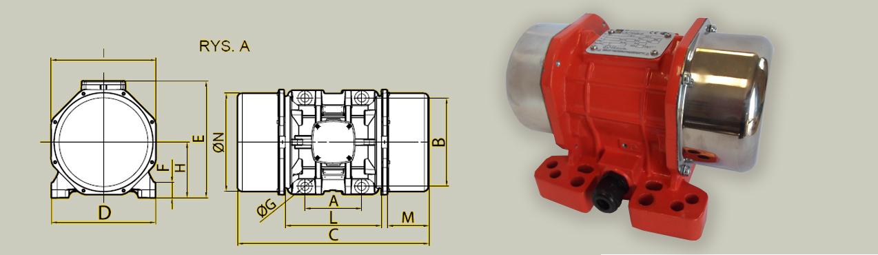 Elektrowibratory OLI-WAM mve-d 8 polowe
