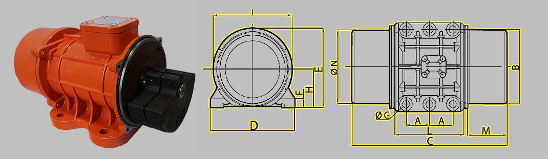 Elektrowibratory OLI-WAM MVE-E